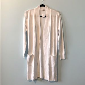 2 for 15! Long White Cardigan